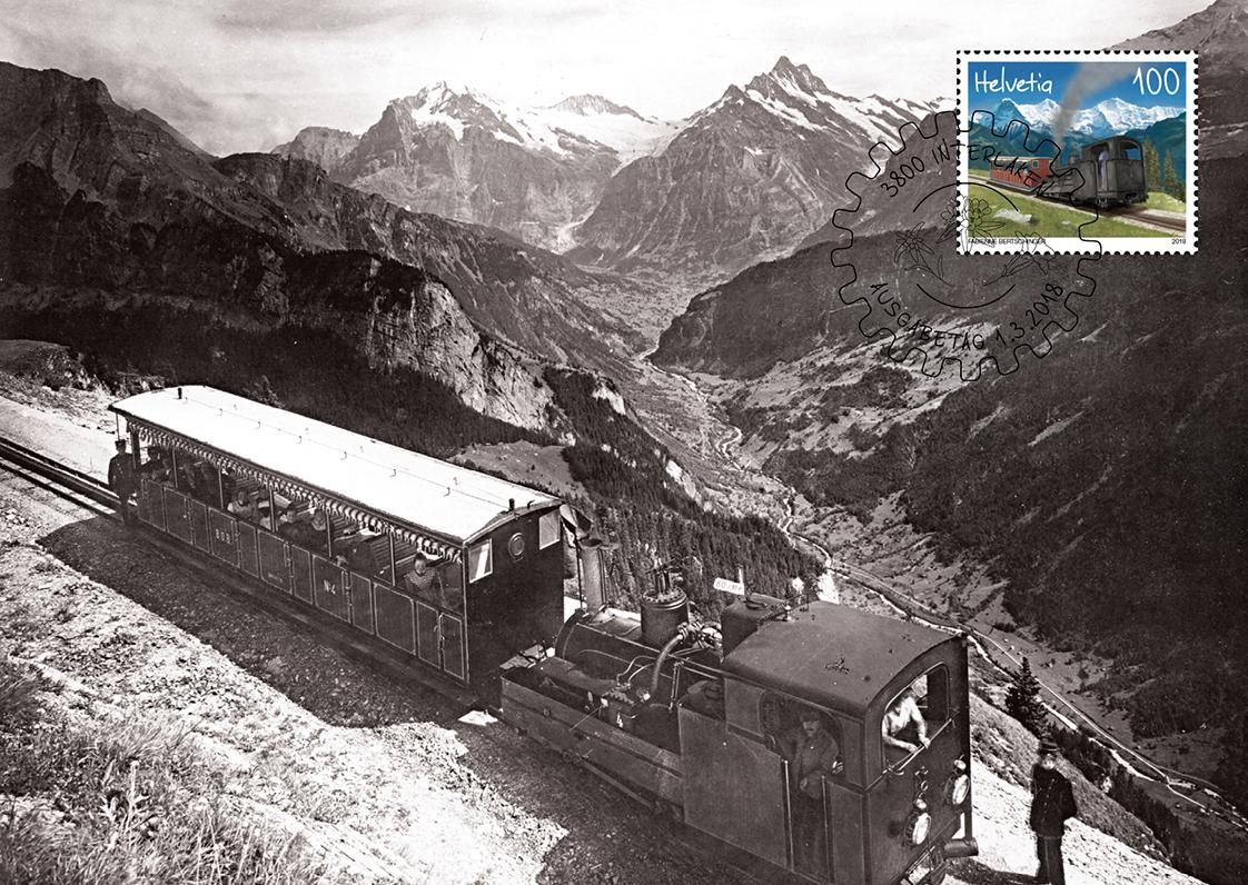 Maximumkarte - Schynige Platte-Bahn